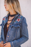 The Ruffle Denim Jacket