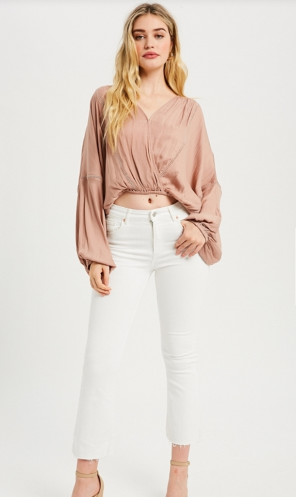 Clare Wrap Top