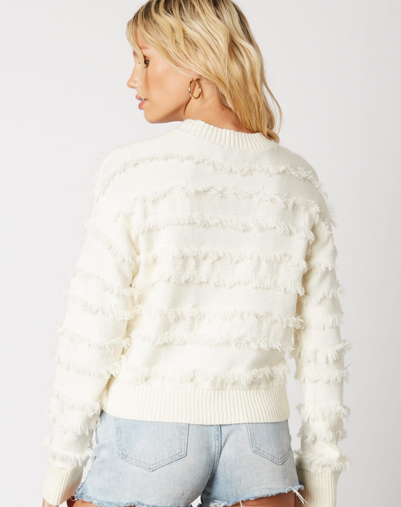 The Fringe Sweater