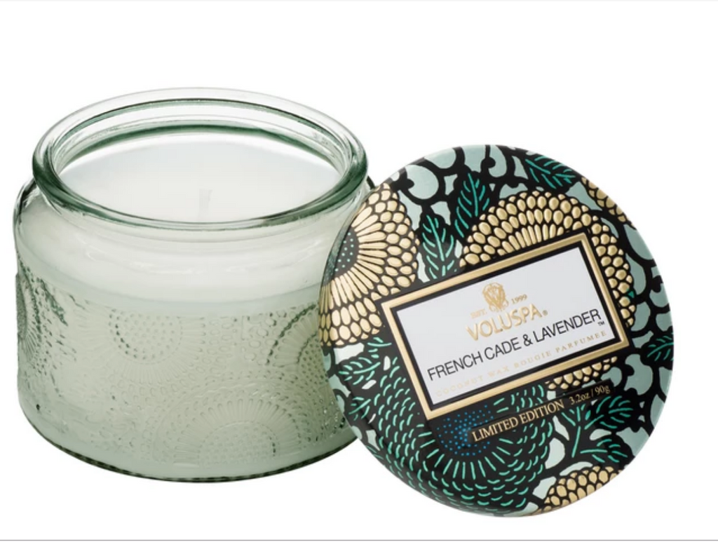 FRENCH CADE LAVENDER PETITE JAR CANDLE VOLUSPA