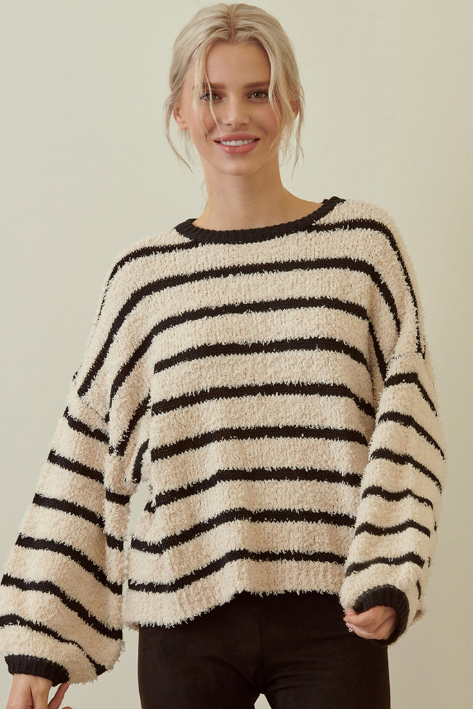 Delaney Striped Sweater