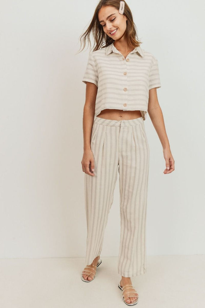 Kayla Striped Set (Top)