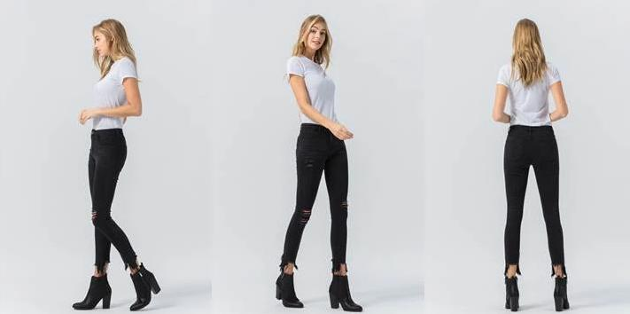 Wicked Game Ankle Zip Jeans