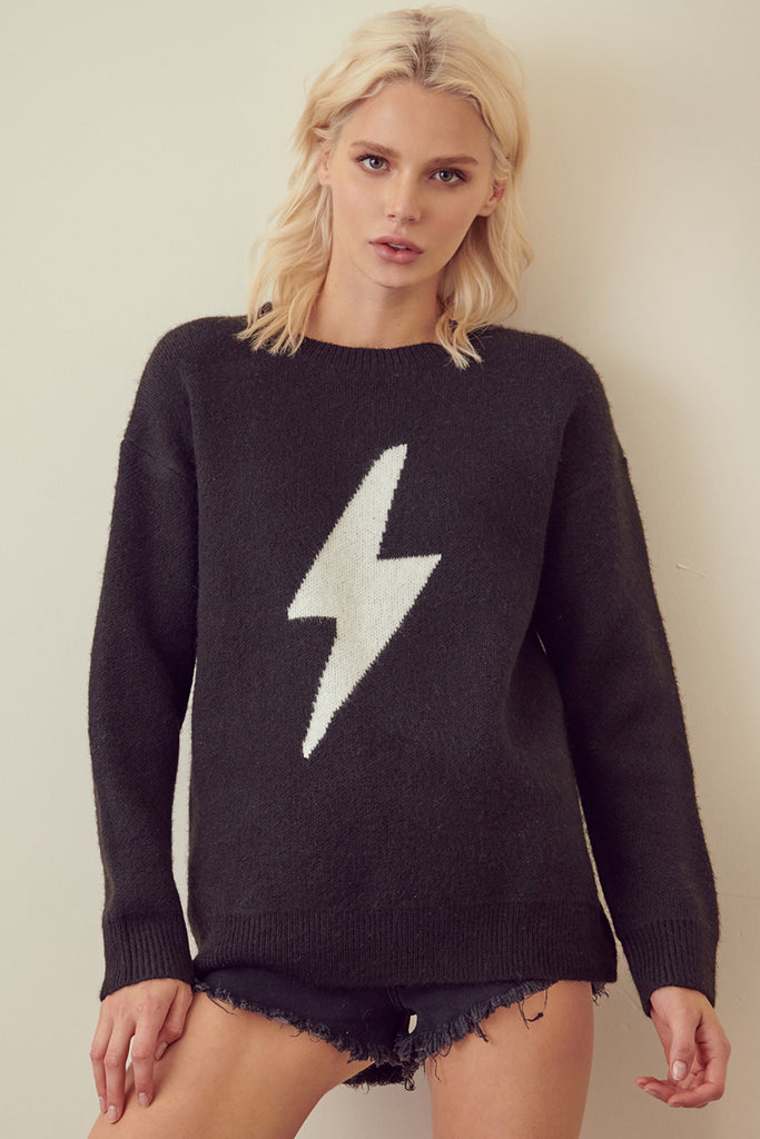 I'm Shocked Lightning Sweater