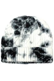 Cable Knit Tie Dye Beanie