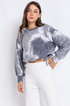 Binge Watch Tie Dye Top