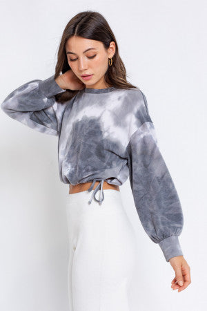 Binge Watch Tie Dye Top (Set)