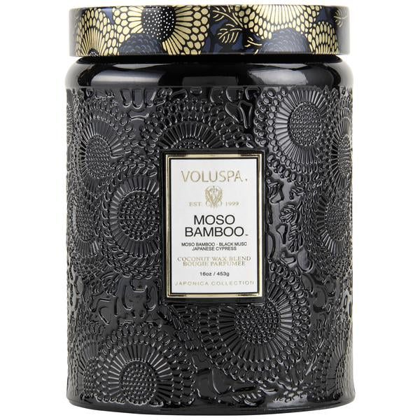 MOSO BAMBOO LARGE JAR CANDLE VOLUSPA