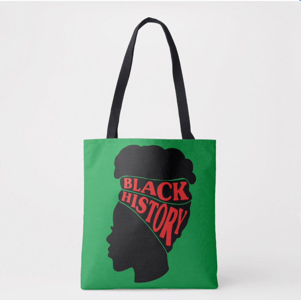 Black History Month Tote/GreenWrap