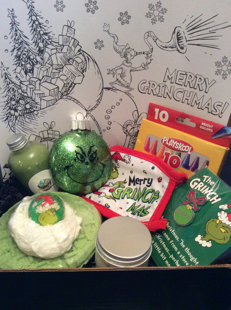 Merry Grinchmas Bath Box