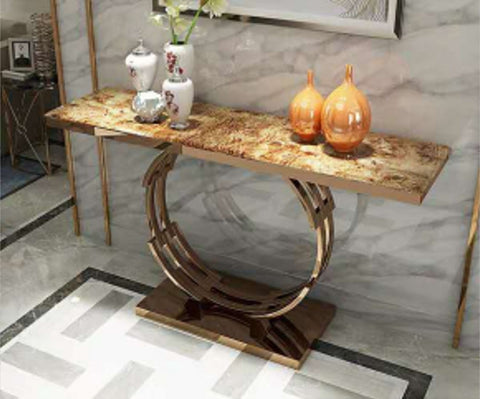 Kerch Marble Console Table