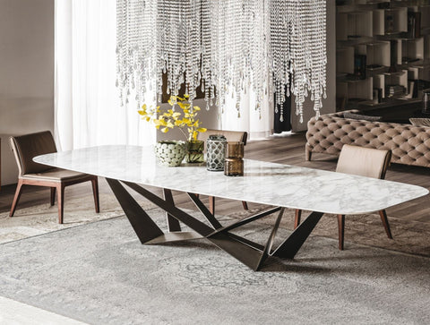 Bilbao Marble Dining Table
