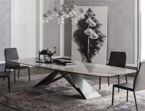 Lamia Marble Dining Table