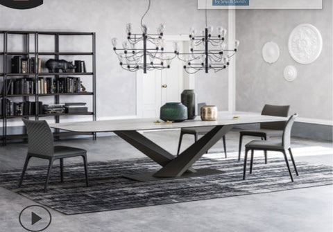 Leiden Sintered Stone Dining Table