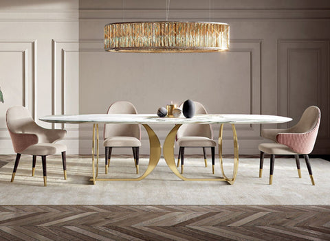 Tartu Marble Dining Table