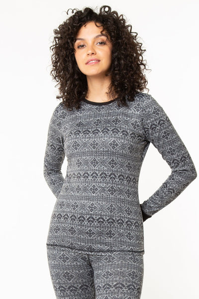 The Nordic Crewneck Long sleeve Top - Base Layer Series
