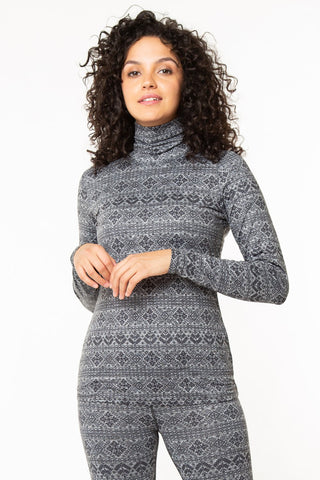 The Nordic Turtleneck Long sleeve Top - Base Layer Series