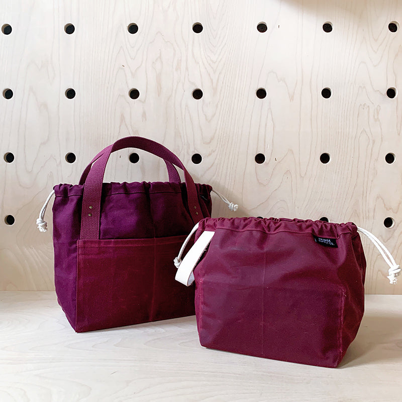 Fig w/ Waxed Plum Town Bag by Fringe Supply Co.