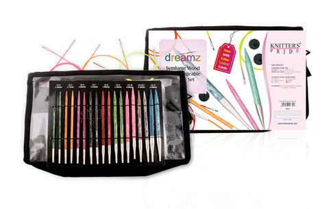 Knitter's Pride Dreamz Symfonie Wood Interchangeable Deluxe Set