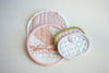 Pleated Pot Holders by Carolyn Friedlander