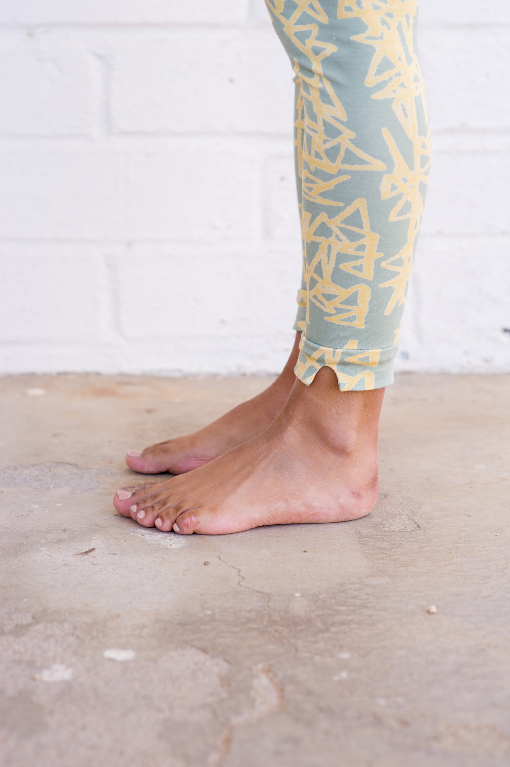 Notched Leggings by Cal Patch