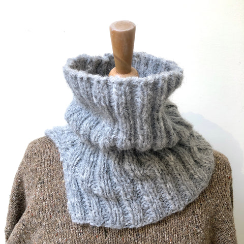 Cozy Ribbed Neckwarmer PDF