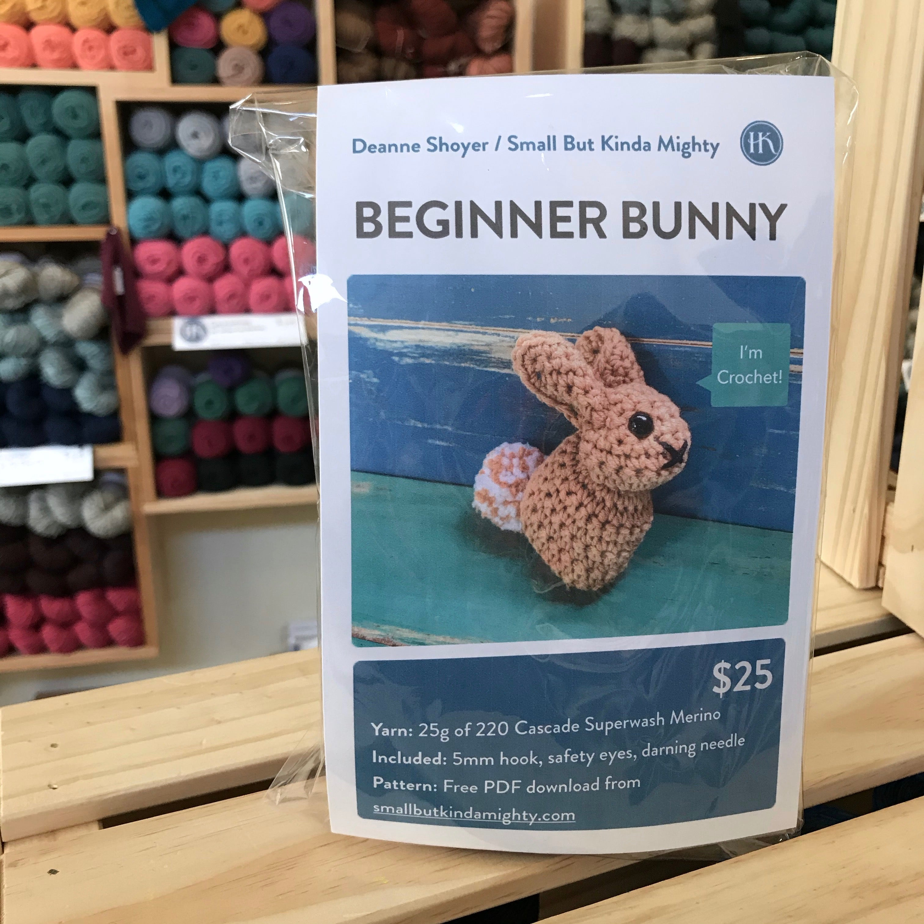 Beginner Bunny Crochet Kit