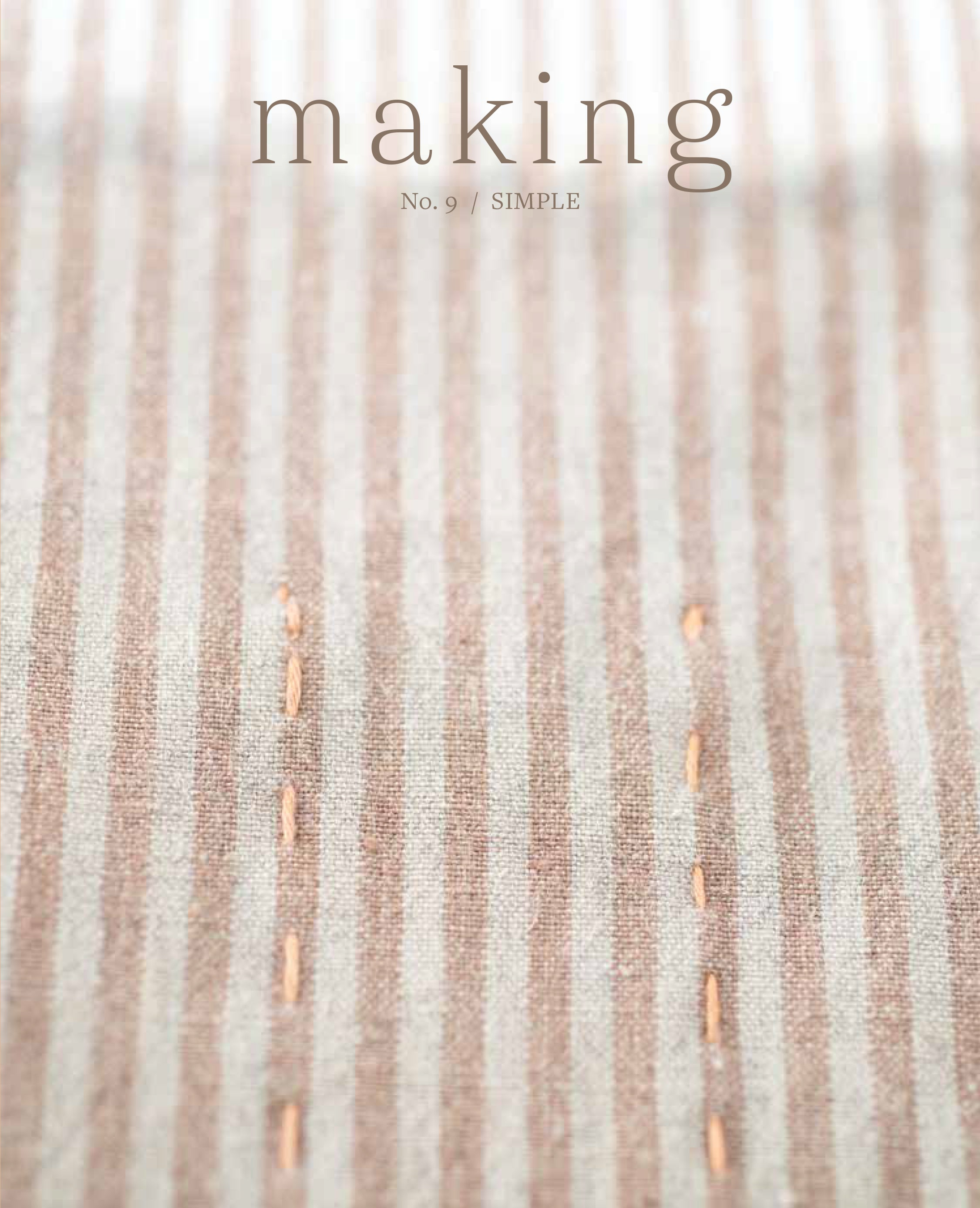 OUT NOW Making Magazine No.9 / Simple