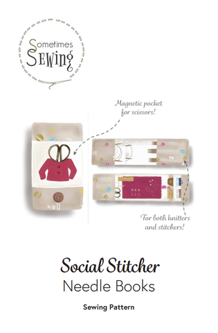 Social Stitcher Needle Books pattern