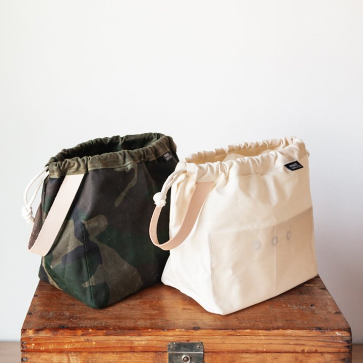 Waxed Canvas Field Bag by Fringe Supply Co.