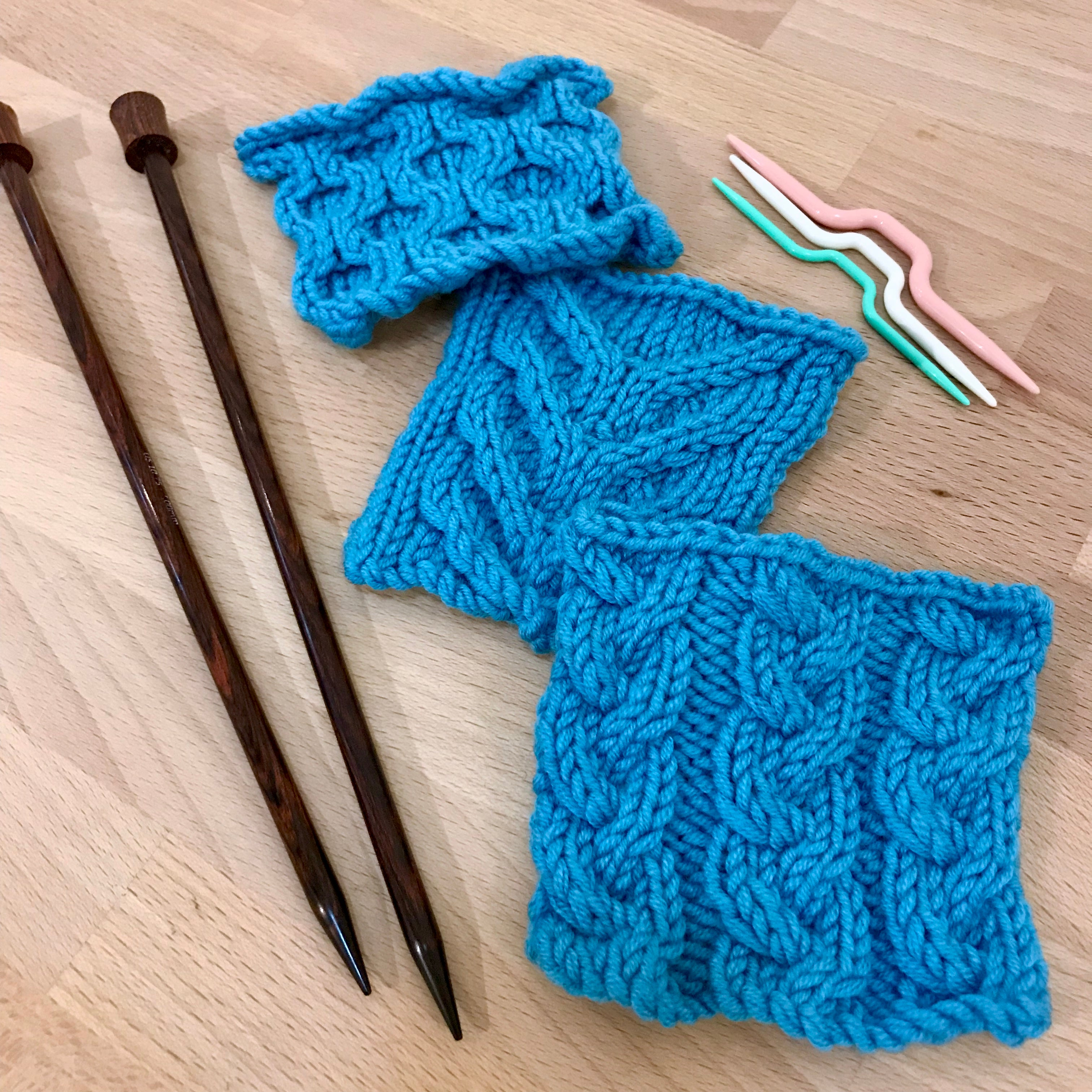 Beyond Knit & Purl: Cables
