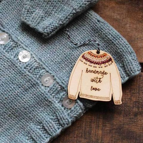 Stitchable Sweater Ornaments