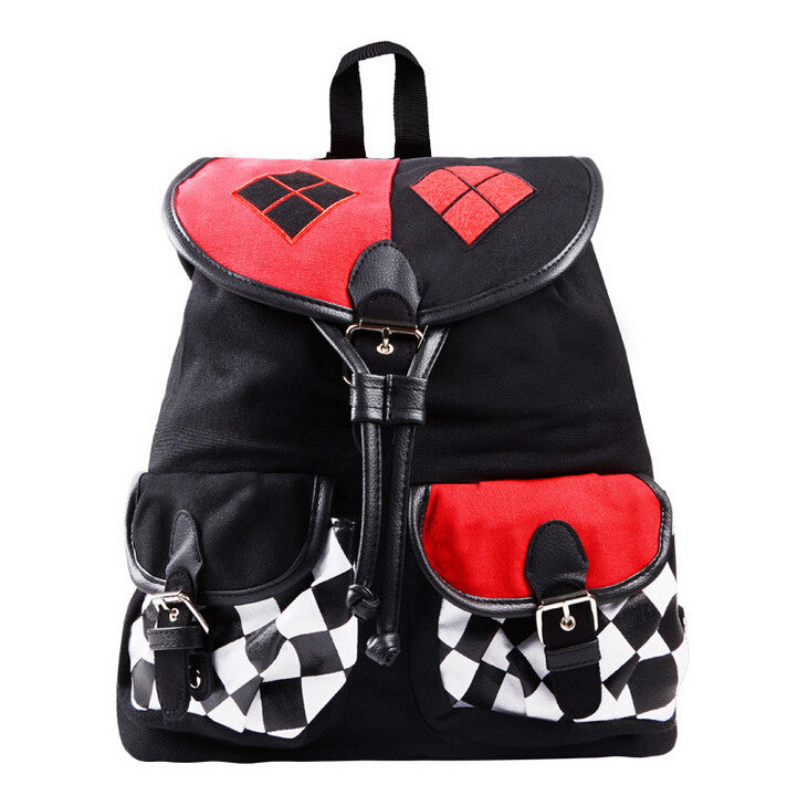 Harley Quinn Backpack School Bag - FREE SHIPPING