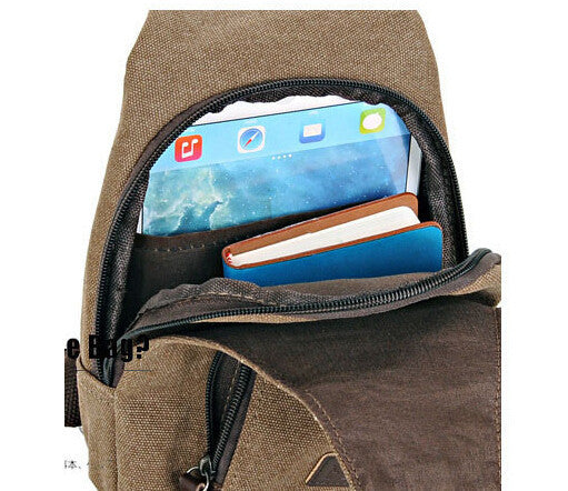 Messenger Canvas Bag- Promotion