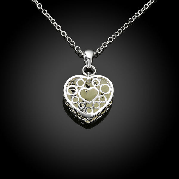 Warm My Heart Luminous Necklaces