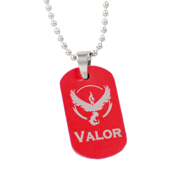 Pokemon Go Dog Tag Necklace - FREE SHIPPING