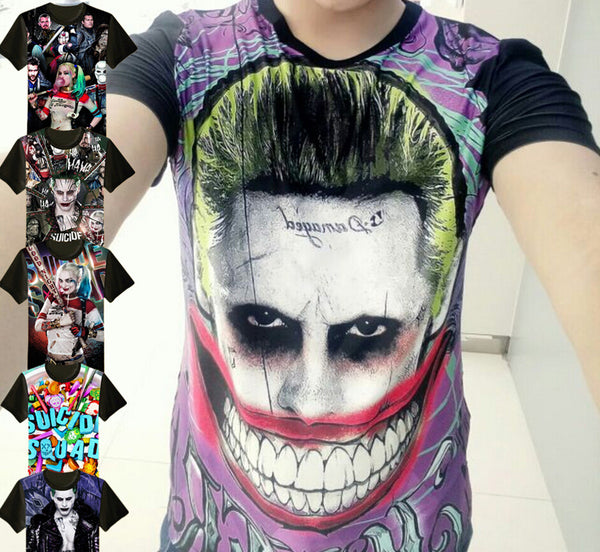Suicide Squad T-shirts Free Shipping