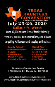 Texas Haunters Convention is THIS WEEKEND - 25th & 26th