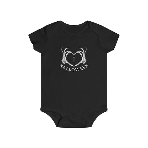 I LOVE HALLOWEEN ONESIE - Metalhead Art & Design, LLC