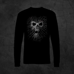 BLACK WIDOW - LONG SLEEVE - Metalhead Art & Design, LLC