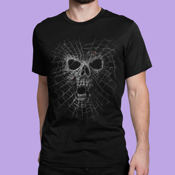 BLACK WIDOW SKULL