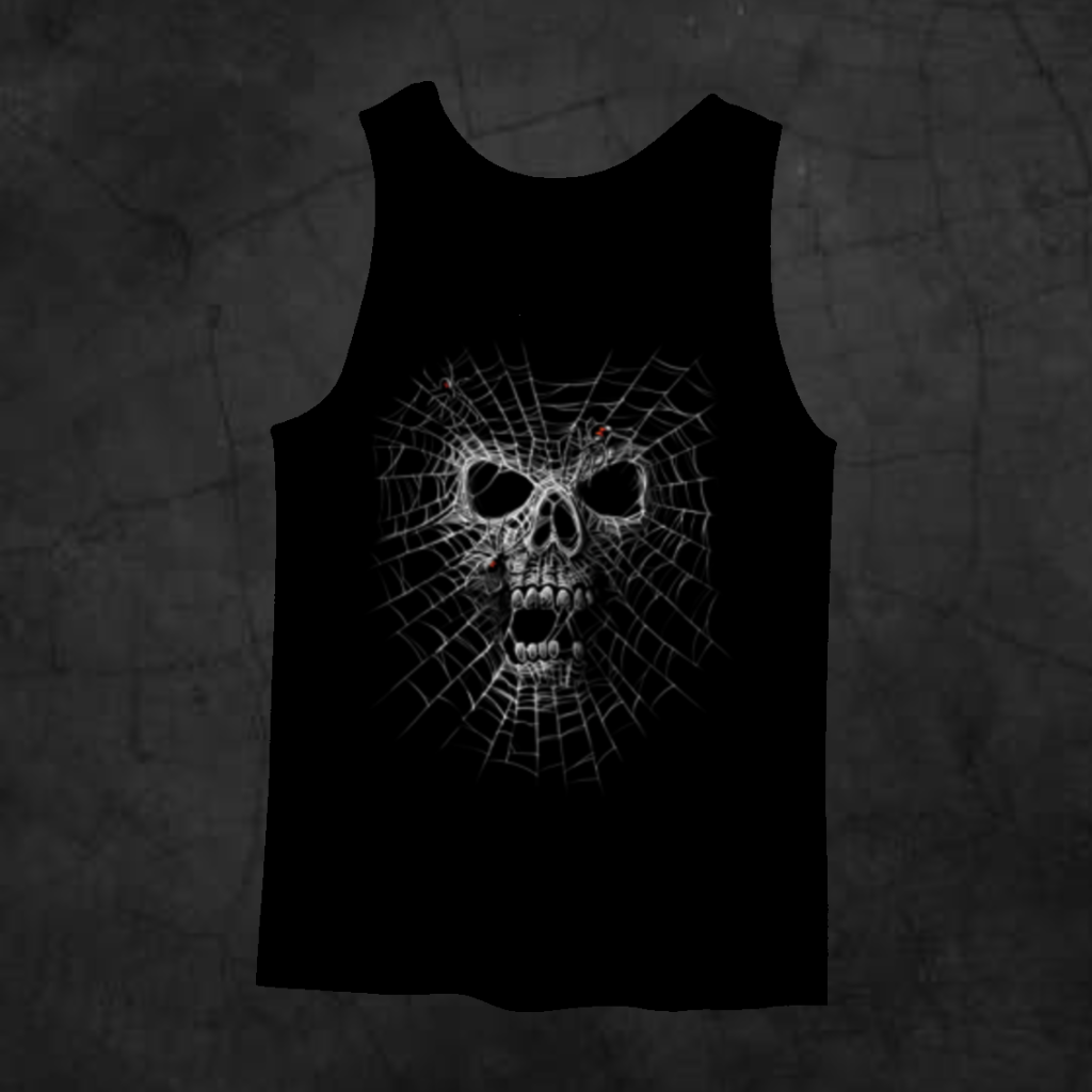 BLACK WIDOW TANK TOP - Metalhead Art & Design, LLC