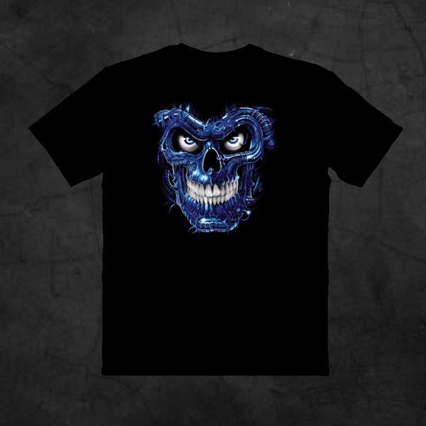 BLUE TERMINATOR - Metalhead Art & Design, LLC