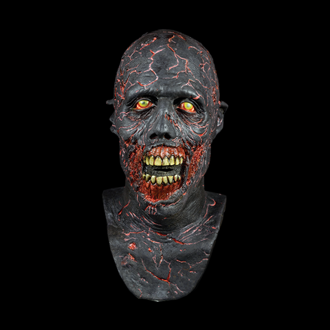 The Walking Dead Charred Walker Halloween Mask - Metalhead Art & Design, LLC