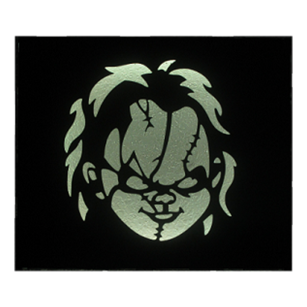 "Chucky ""Child's Play"" LED Metal Art Wall Hanging - Metalhead Art & Design, LLC"
