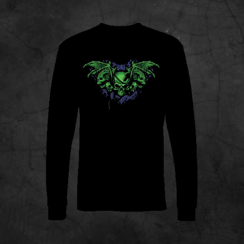 DEMON WINGS - LONG SLEEVE - Metalhead Art & Design, LLC