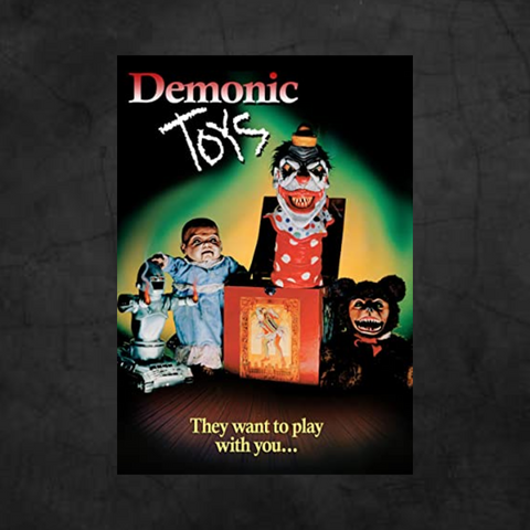 DEMONIC TOYS DVD - Metalhead Art & Design, LLC