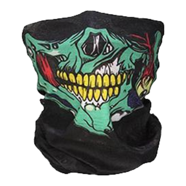 ZOMBIE GORE NECK GAITER FACE MASK