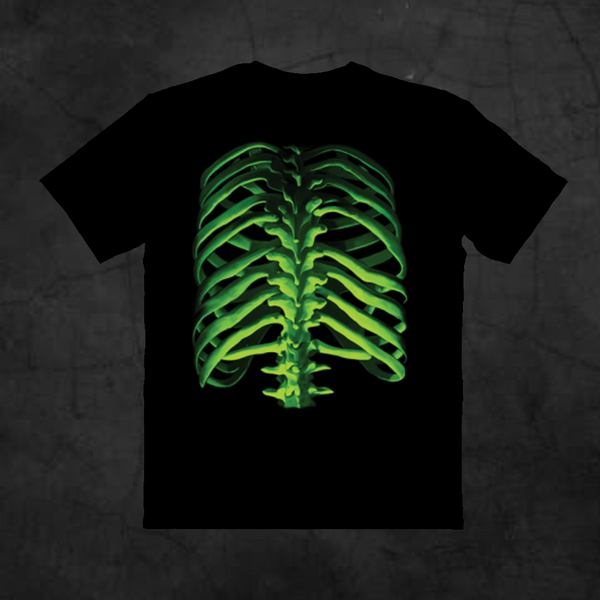 GLOW BONES - RIBS - Metalhead Art & Design, LLC