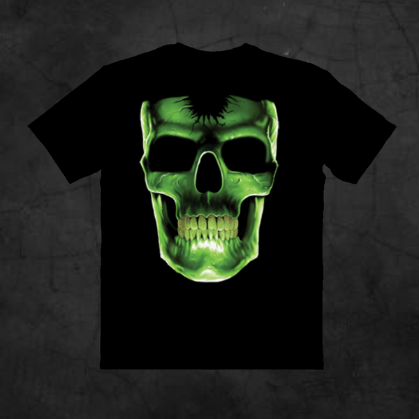 GLOW BONES - SKULL - Metalhead Art & Design, LLC